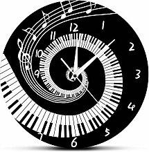 smyzll Elegante klaviertasten schwarz und weiß