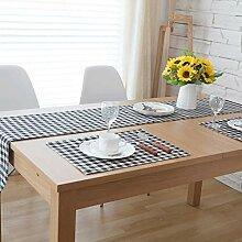 SN Baumwolle Leinen Tischläufer, Modern Einfacher