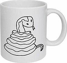 Snake' Ceramic Mug/Travel Coffee Mug
