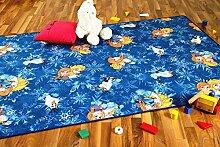 Snapstyle Kinder Spiel Teppich Walt Disney Frozen