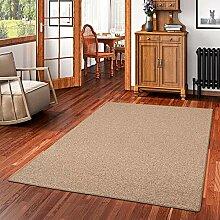 Snapstyle Natur Teppich Wolle Berber Braun in 24