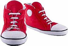 Sneaker Hausschuhe für Männer in rot - Sportschuh Pantoffeln Hausschuh Pantoffeln Winter im Paar