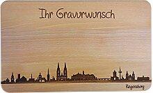 SNEG Brotzeitbrett Regensburg Skyline |