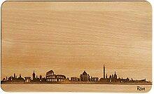 SNEG Brotzeitbrett Rom Skyline |