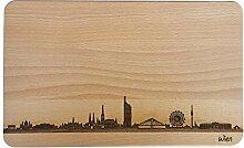 SNEG Brotzeitbrett Wien Skyline |