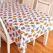 SNHWARE Tischdecke Ist Wasserdicht Knitterfrei Und Umweltschutz Helle Farbe,137*137CM
