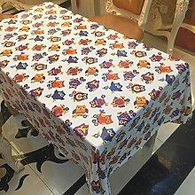SNHWARE Tischdecke Mit Einfacher Mode Falten Frei Und Wasserdicht Langlebig,137*220CM