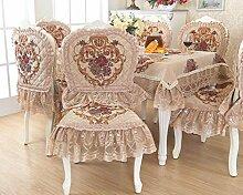 SNHWARE Tischdecke Mit Knitterfrei Thick Und Umweltschutz Helle Farbe,Yellow-Cushion