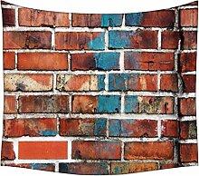 Snoogg Brick Tapete Wandteppichen indischen Mandala Tapisserie Dekorative Wohnheim Wandteppichen Beach Picknick Tabelle Hippie Tapisserie Wand, Bohemian