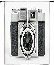 Snoogg Kamera Bild Polyester Drapes Verdunklungsvorhänge 76,2cm W x 152,4cm L (Set von 2)