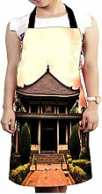 Snoogg Shangai Tempel Design Küche Köche Schürze für Damen und Herren