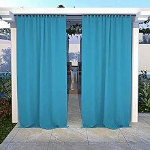 SNOWCITY Wasserdichte Outdoor-Vorhänge, Pavillon,