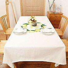 SnowFig Tischdecke Haus Rustikalen Stil Gelb