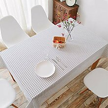 SnowFig Tischdecke Weiß Kleine Quadratische