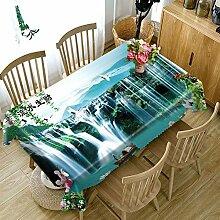 SnowFig Tischdecken Samt Leinen Chinesischen Stil