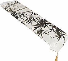 SnowFig Tischläufer Bambus-Muster Der
