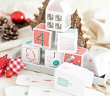 Snowflake Adventskalender, 24 Schachteln zum