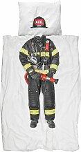 Snurk Feuerwehr Bettwäsche 135x200 (l) 200 X (b)