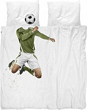 Snurk Soccer Bettwäsche 200x220 (l) 220 X (b) 200