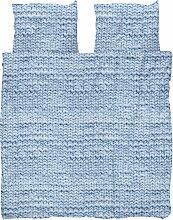 Snurk Twirre Bettwäsche Ice Blue 200x220 (l) 220