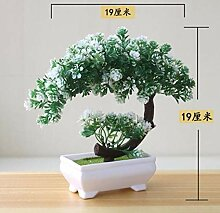 SNV Ornamente Künstliche Pflanze Bonsai