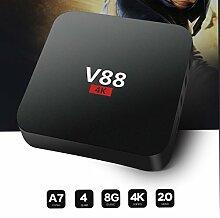 SO-buts V88-4K Max Android TV-Box, 1080p HD,