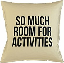 So Much Room For Activities Schlafsofa Home Décor Kissen Kissenbezug Fall Beige