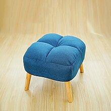 So senden Hocker Einzeltuch Multifunktional Sofa Hocker Kreatives Wohnzimmer Mit Schlafzimmer TV Sofa Hocker Schuhhocker Wechseln (Vier Farben Optional) --Lagerhocker ( Farbe : #1 )