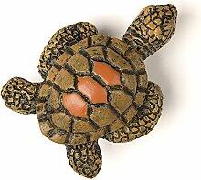 SO-TECH® Meerestier Kindergriff Möbelknopf Möbelgriff Gummigriff Schildkröte