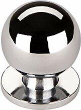 SO-TECH/® M/öbelgriff M/öbelknopf K-01 M/öbelknauf Edelstahloptik matt /Ø 22 mm