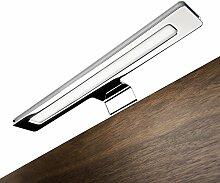 SO-TECH® Spiegelleuchte (Einzelleuchte reinweiß OHNE Trafo) 12V Badleuchte Aufbauleuchte Schrankleuchte Möbelleuchte