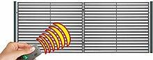 SO20 Einfahrtstor Hoftor Doppelflügeltor Gartentor Berlin mit elektr. Antrieb und Riegelset 350 x 150 cm Komplett-Set inklusive 2 Torelementen, 2 Stahlpfosten und Beschlägen. Gesamtbreite ist ca. 377 cm