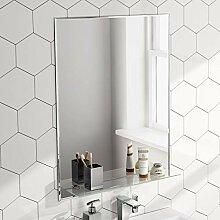 Soak Design-Badspiegel mit Ablage - Wandspiegel
