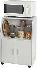 SoBuy® FRG241-W Küchenschrank Küchenwagen