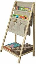 SoBuy® FRG276-N Kinder-Bücherregal klappbar