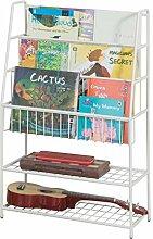 SoBuy KMB06-W Kinder-Bücherregal Büchergestell