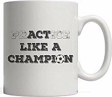 Soccer PrACTice oder Benimm dich wie ein Champion!