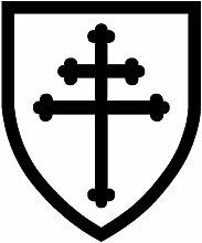 Social Liuzi 12.5cm * 15.6cm Lothringer Kreuz
