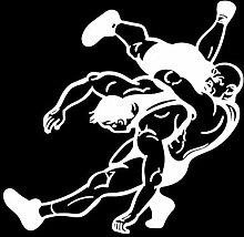 Social Liuzi 15.4CM * 14.8cm Wrestlers Fighters