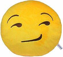 Socializzed Flirt Emoji Kissen
