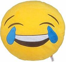 Socializzed Freudentränen Emoji Kissen