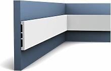 Sockelleiste mit Kabelkanal Decor DX163-2300