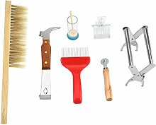 Socobeta Imkerei-Werkzeuge 7-teilig für Anfänger