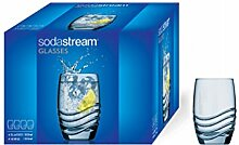 SodaStream Design Glas 4er Pack Trinkgläser