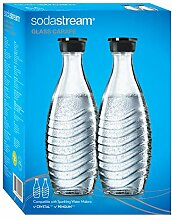 SodaStream DuoPack Glaskaraffe für Crystal und