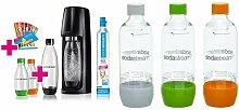 SodaStream Easy Vorteilspack Wassersprudler mit 1