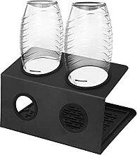 SodaStream Flaschenhalter,2er Abtropfhalter Soda