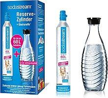 SodaStream Reservepack mit 1x CO2-Zylinder und 1x