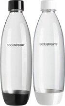 SodaStream Wassersprudler Flasche, (Set, 2-tlg),