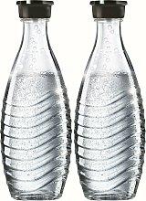 SodaStream Wassersprudler Flasche, (Set, 2 tlg.),